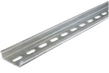 Дин-рейка ТН 35x7,5 оцинкованная сталь (цинк белый)