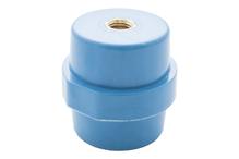 """Опорный изолятор типа """"бочонок"""" SM 12кВ H=40мм цвет синий (1 упак./10 шт.)"""
