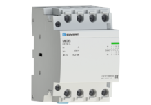 Модульный контактор MC06 3Р 32А 4НО 400B/230B ELVERT