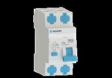 Автоматический выключатель дифф.тока D206 2р C6 30 мА тип А ELVERT