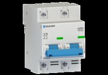 Автоматический выключатель eZ113 2Р C63 10кА ELVERT