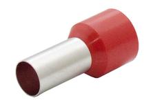 Наконечник штыревой втулочный изолир. сечение 35,0 кв.мм длина 16мм цвет красный (1пакет/50шт)