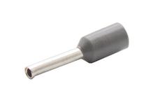 Наконечник штыревой втулочный изолир. сечение 0,75 кв.мм длина 8мм цвет серый (1пакет/50шт)