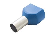 Наконечник штыревой втулочный изолир двойной сечение 16 кв.мм длина 14мм цвет синий (1пакет/50шт)