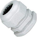 Кабельный ввод (сальник) пластиковый резьба PG09, диаметр кабеля 4-8 мм (1 упак./100 шт.)