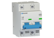 Автоматический выключатель eZ113 2Р C25 10кА ELVERT