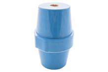 """Опорный изолятор типа """"бочонок"""" SM 25кВ H=76мм цвет синий (1 упак./10 шт.)"""