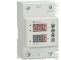 Реле напряжения и тока проходное с индикацией RV-1IU 1Р+N 63A АС 230 В