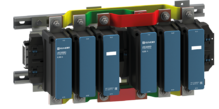 Силовой контактор eTC60 630A 230B 2НО реверсивный ELVERT