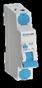 Автоматический выключатель дифф.тока MD06 2р C6 30 мА электрон. тип А ELVERT