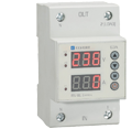Реле напряжения и тока проходное с индикацией RV-1IU 1Р+N 25A АС 230 В
