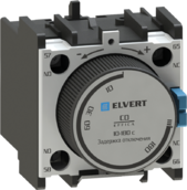 Приставки контактные с выдержкой времени отключения CD 0,1-30 с. для контакторов СС10, eTC60
