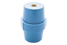 """Опорный изолятор типа """"бочонок"""" SM 15кВ H=51мм цвет синий (1 упак./10 шт.)"""
