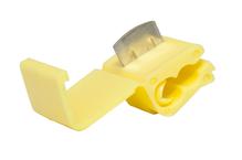 Ответвитель прокалывающий сечение 4,0-6,0 кв.мм 24 А цвет желтый (1пакет/50шт)