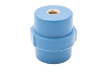 """Опорный изолятор типа """"бочонок"""" SM 8кВ H=30мм цвет синий (1 упак./20 шт.)"""