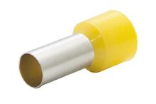 Наконечник штыревой втулочный изолир. сечение 25,0 кв.мм длина 16мм цвет желтый (1пакет/50шт)