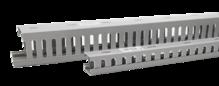Кабельный канал перфорированный пластиковый 65х65