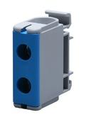 Клеммный блок закрытый FTB-240B синий