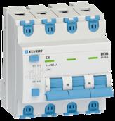 Автоматический выключатель дифф.тока D06 4р C20 100 мА электрон. тип АС ELVERT