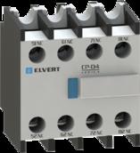 Приставка контактная СP-40 4NO для для контакторов CC10 и eTC60