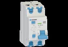 Автоматический выключатель дифф.тока D06 2р C50 30 мА электрон. тип АС ELVERT