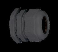 Кабельный ввод (сальник) пластиковый резьба M20x1,5, диаметр кабеля 6-12 мм (1 упак./100 шт.)