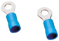 Наконечник кольцевой сечение 1,5-2,5 кв.мм отверстие под М8 цвет синий (1 пакет/50 шт.)
