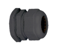 Кабельный ввод (сальник) пластиковый резьба M12x1,5, диаметр кабеля 3-6.5 мм (1 упак./100шт.)
