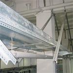 Система металлических листовых лотков