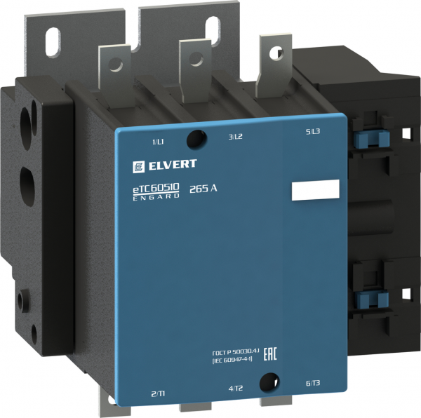 Силовой контактор eTC60 265A 230B НО ELVERT
