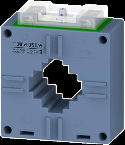 Трансформатор тока шинный ТТ-В40 500/5 0,2 ASTER