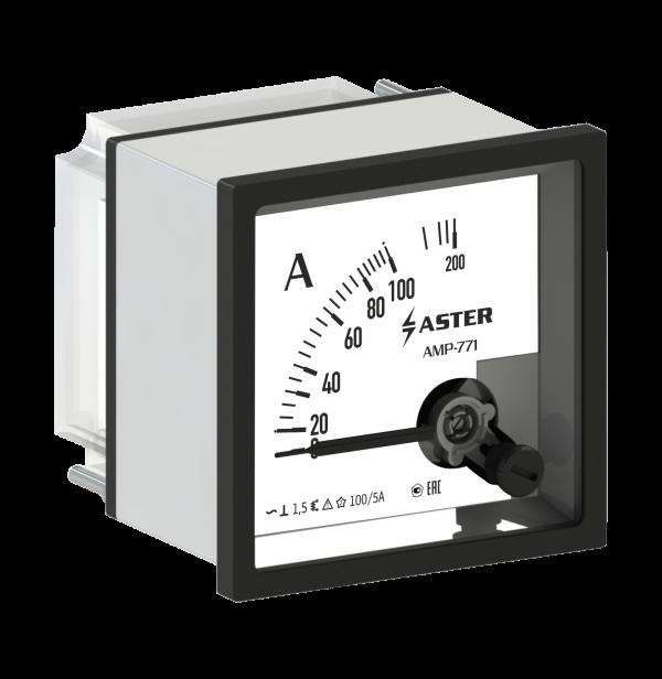 Амперметр AMP-771 1000/5А (трансформаторный) класс точности 1,5