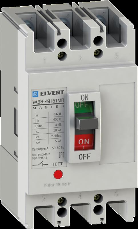 Силовой автоматический выключатель VA88-29 63TMR 3P 10кА серии Master