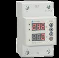 Реле напряжения и тока проходное с индикацией RV-1IU 1Р+N 50A АС 230 В