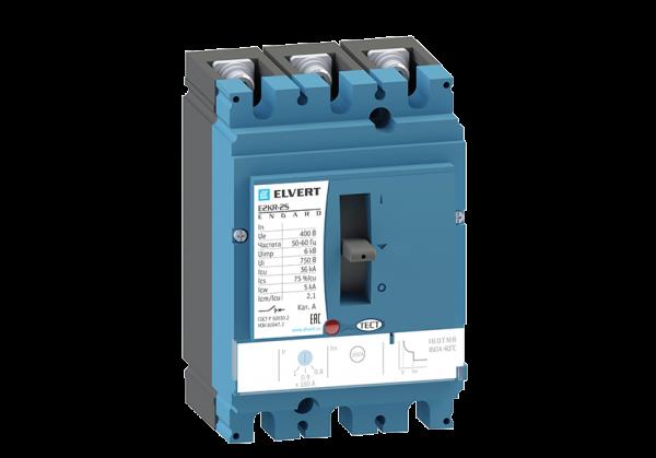 Силовой автоматический выключатель с регулировкой E2KR-2S 160TMR 3P 36кА ELVERT