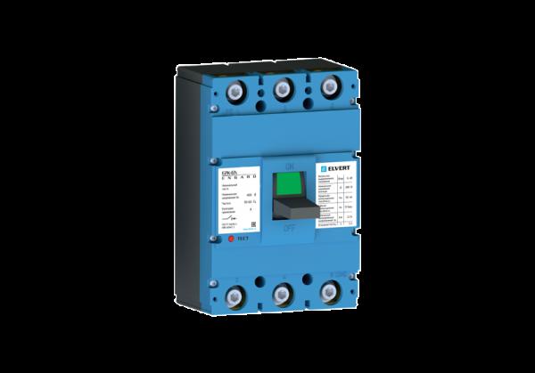 Силовой автоматический выключатель E2K-6N 630TMR 3P 50кА ELVERT
