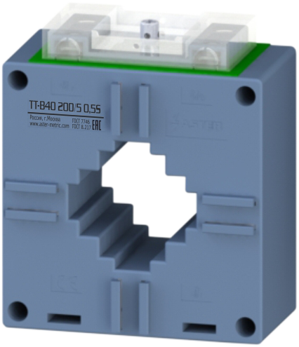 Трансформатор тока шинный ТТ-В40 300/5 0,2 ASTER