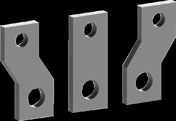 Силовые выводы для присоединения спереди TF2K-4 к Е2К-4S (320-400 А) (1 пакет/3 шт.)