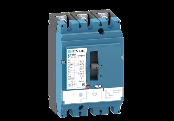 Силовой автоматический выключатель с регулировкой E2KR-1S 100TMR 3P 36кА ELVERT