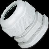 Кабельный ввод (сальник) пластиковый резьба PG21, диаметр кабеля 14-18 мм (1 упак./100 шт.)