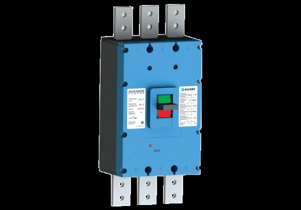 Силовой автоматический выключатель E2K-16N с электроприводом 1600TMR 3P 50кА ELVERT