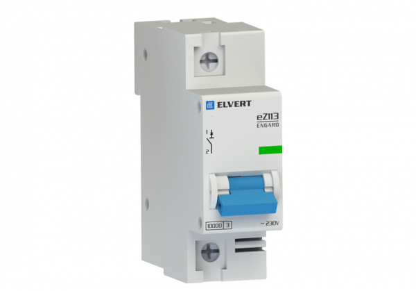 Автоматический выключатель eZ113 1Р D50 10кА ELVERT