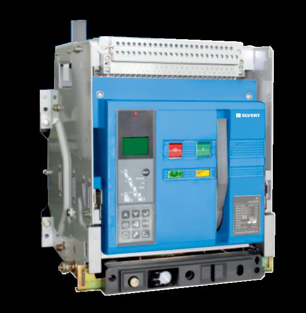 Воздушный автоматический выключатель с функцией обмена данными выкатной Е5К-1F 1600ER 3P 80 kA ELVERT