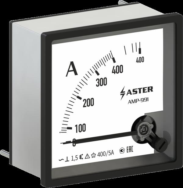 Амперметр AMP-991 100/5А (трансформаторный) класс точности 1,5