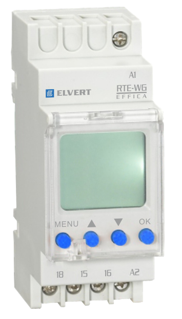 Таймер (недельный цикл) цифровой RTE-WG АС 230В