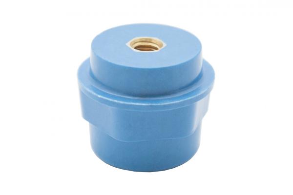 """Опорный изолятор типа """"бочонок"""" SM 6кВ H=25мм цвет синий (1 упак./20 шт.)"""