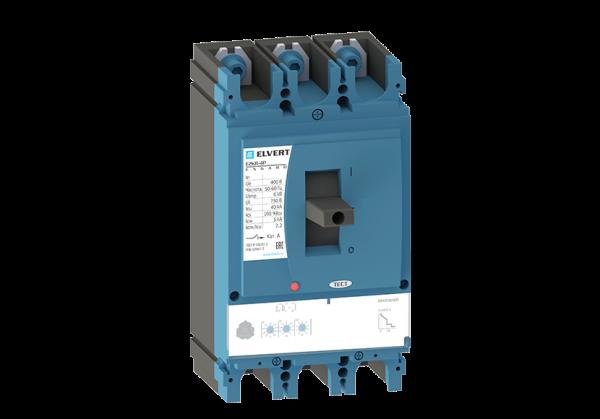 Силовой автоматический выключатель с регулировкой E2KR-4P 400ER 3P 40кА ELVERT