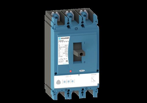 Силовой автоматический выключатель с регулировкой E2KR-6P 500ER 3P 40кА ELVERT