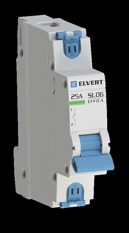 Выключатель нагрузки SL06 1Р 20А ELVERT